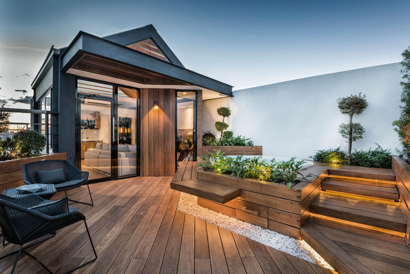 This Rooftop Has Been Turned Into A Living E For Family To Relax In