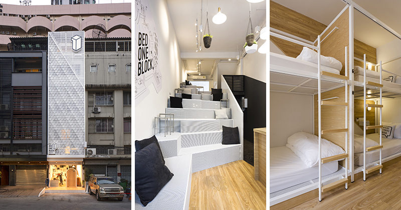 This Modern Hostel Design In Bangkok Thailand Brings A Fresh Look To The Street