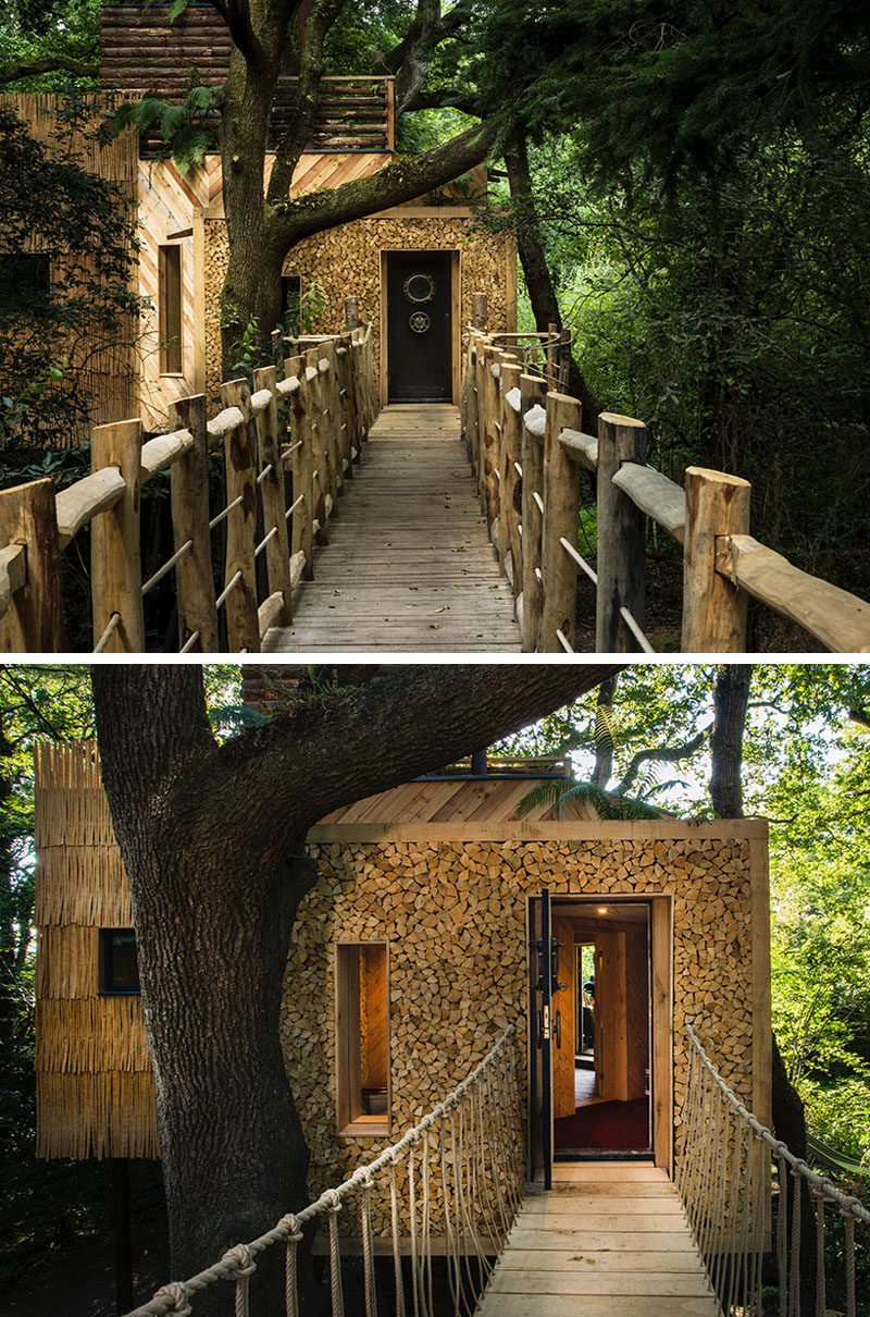 his amazing treehouse hotel was designed for adults on vacation ... - ^