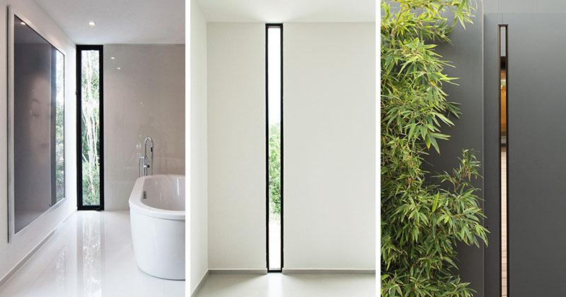 Window Style Ideas Narrow Vertical Windows