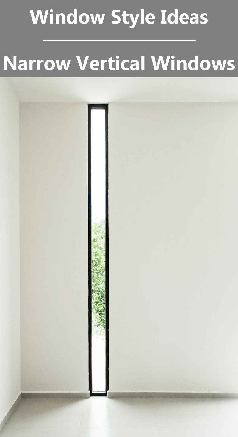 Window style ideas narrow vertical windows contemporist for Window definition