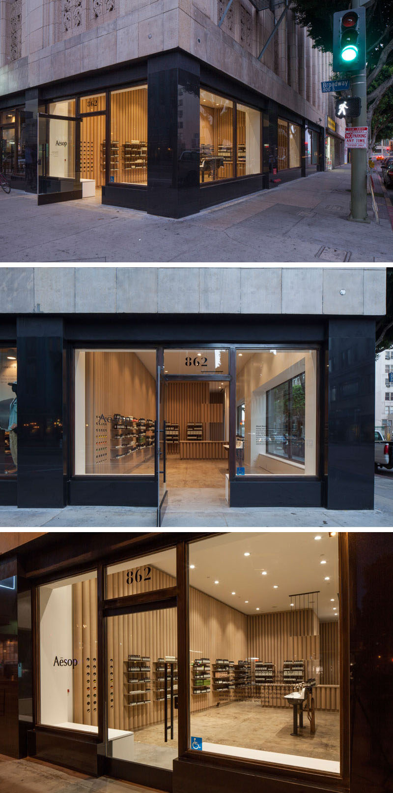 modern store interior design ideas brooks scarpa designed this aesop retail store in downtown - Retail Store Design Ideas