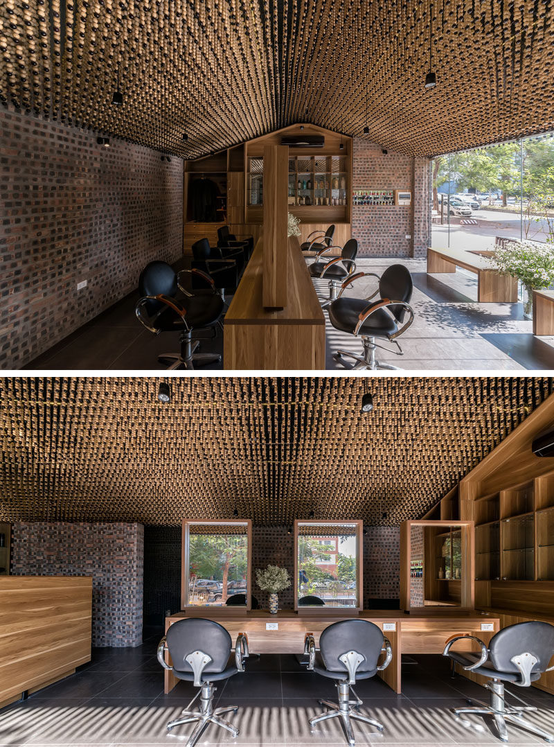 Ceiling Design Ideas 200 000 Wood Beads Cover The