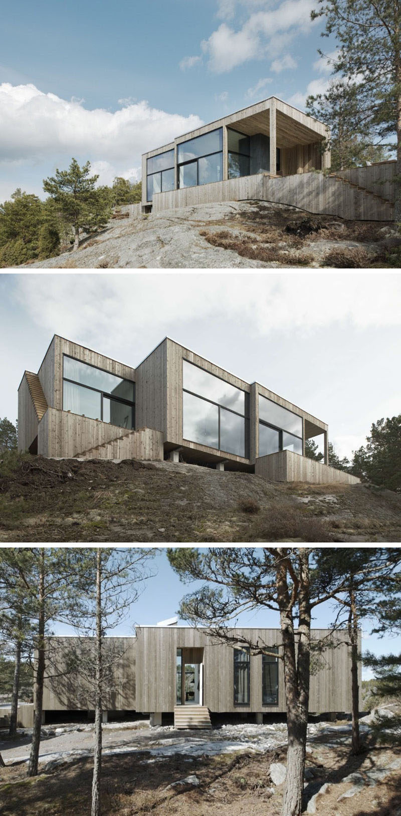 Examples Modern Scandinavian House Designs Contemporist