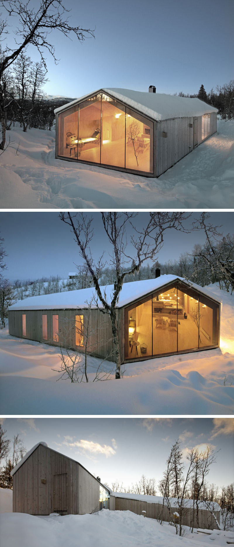 19 examples of modern scandinavian house designs for Modern big house design