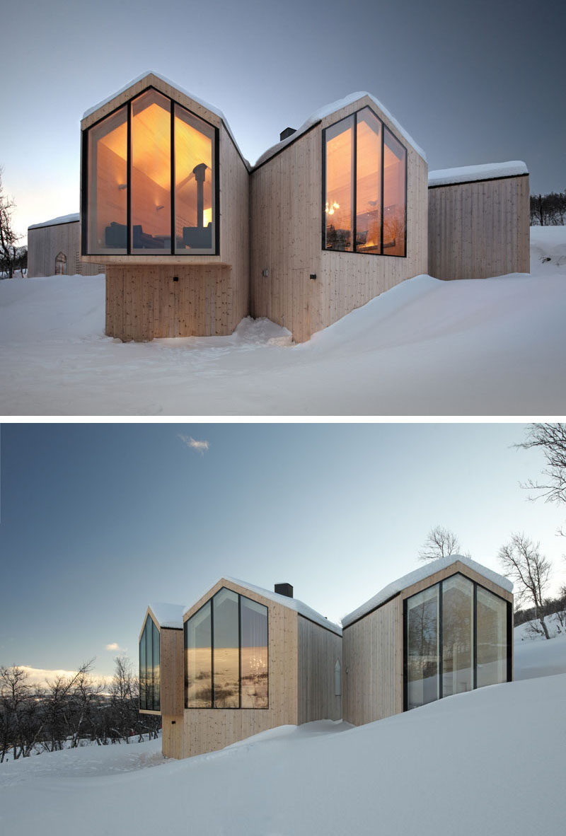 19 examples of modern scandinavian house designs for Modern house history