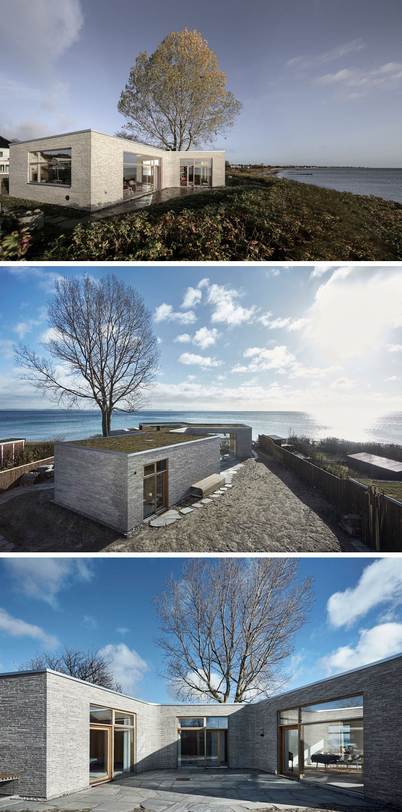 Stone Home Designs: 19 Examples Of Modern Scandinavian House Designs