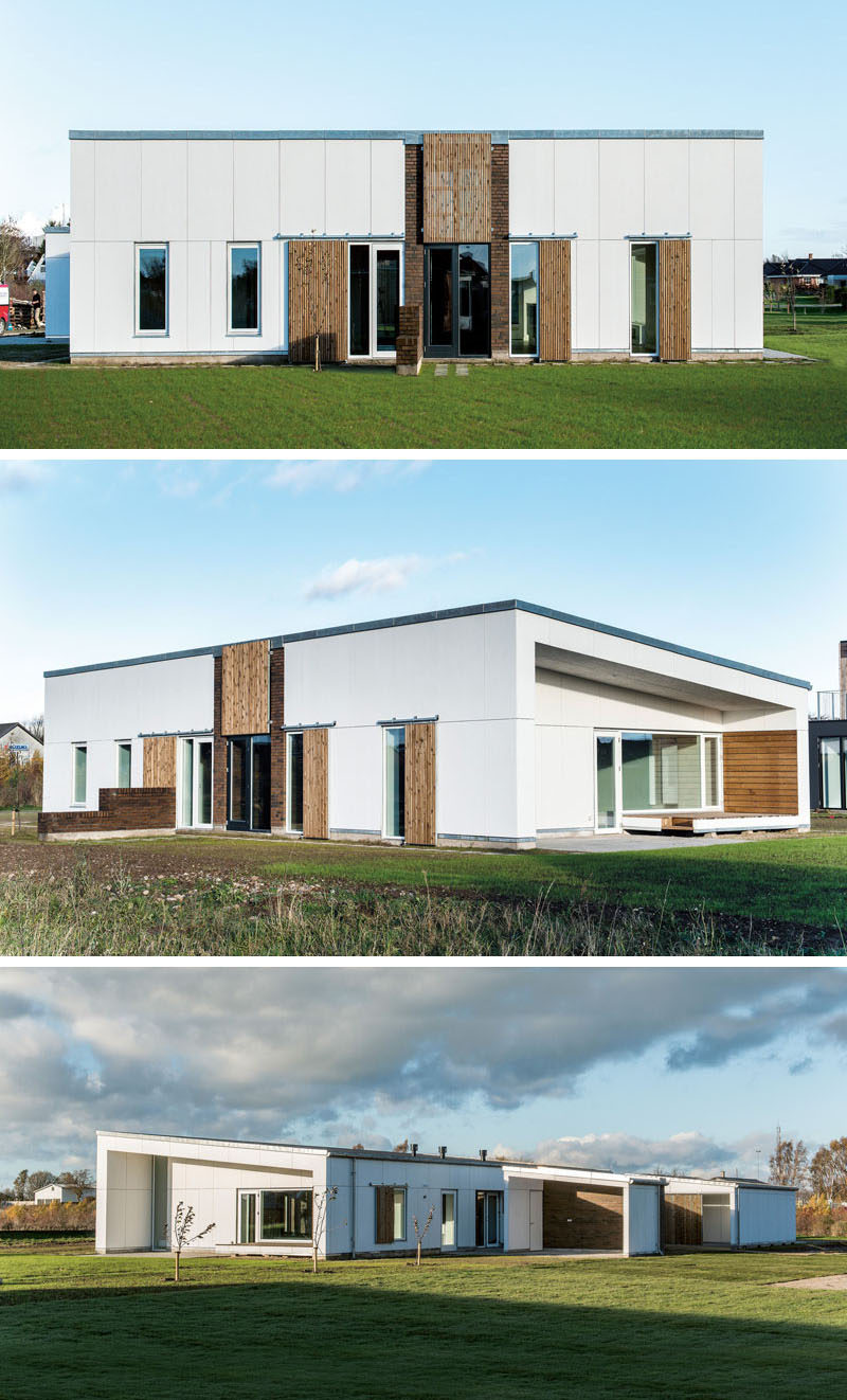 19 examples of modern scandinavian house designs wood bricks and white siding have