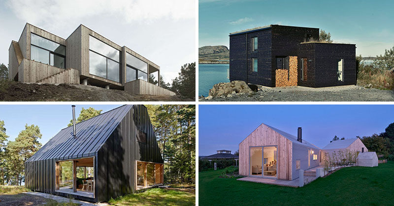 19 examples of modern scandinavian house designs | contemporist