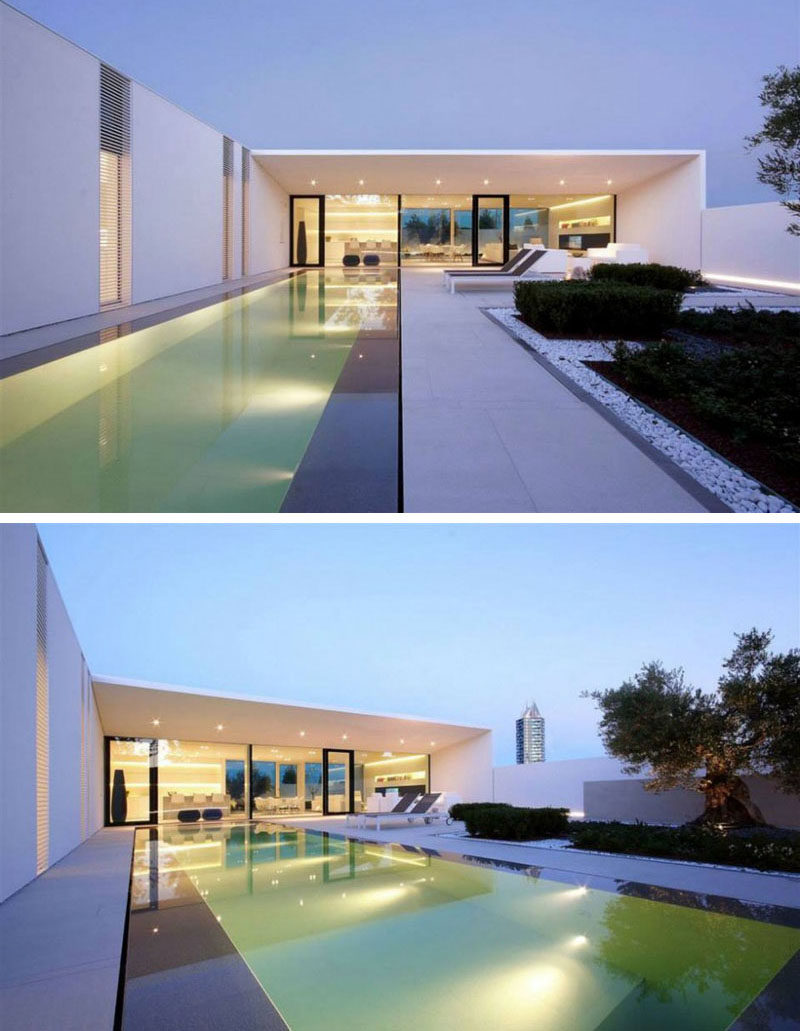 15 single story modern houses the touches of black on the exterior of this all