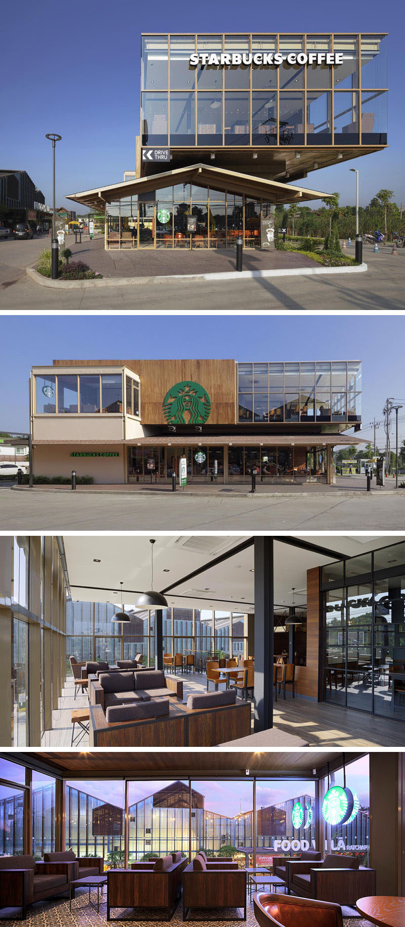 11 Of The Most Uniquely Designed Starbucks Coffee Shops From