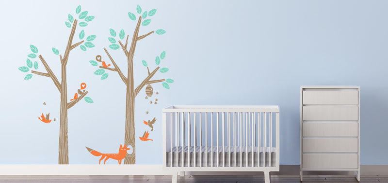 Epic  Decor Ideas For Creating A Woodland Nursery Design Create a woodland setting using