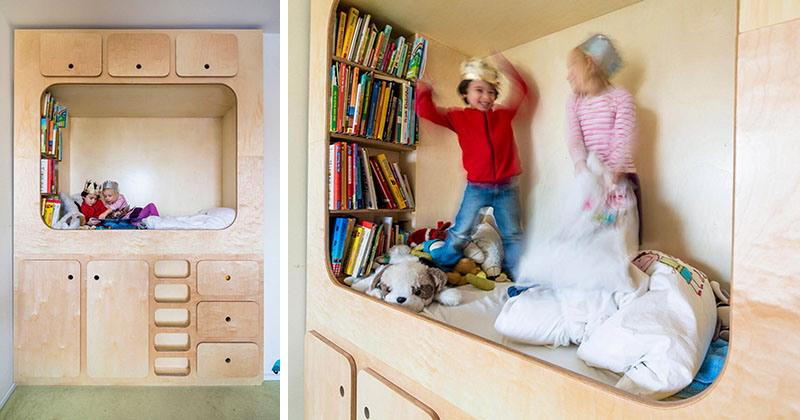 Kids Bedroom Design Idea - Include A Cubby Or Reading Nook For Them To Play In