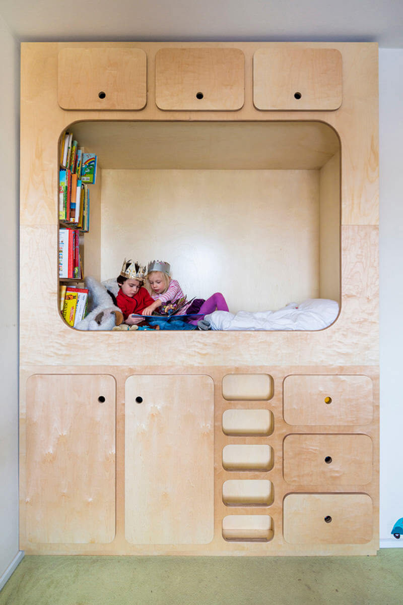 how to build a classroom cubby for kids