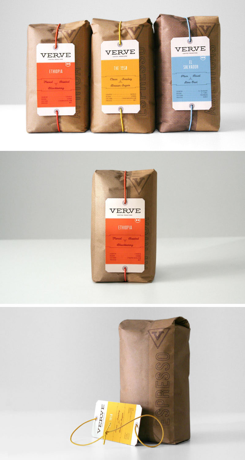Ranging from simple minimalist designs to intricately detailed and colorful packages, here are 15 examples of creative coffee packaging that looks so good, the coffee probably tastes better.