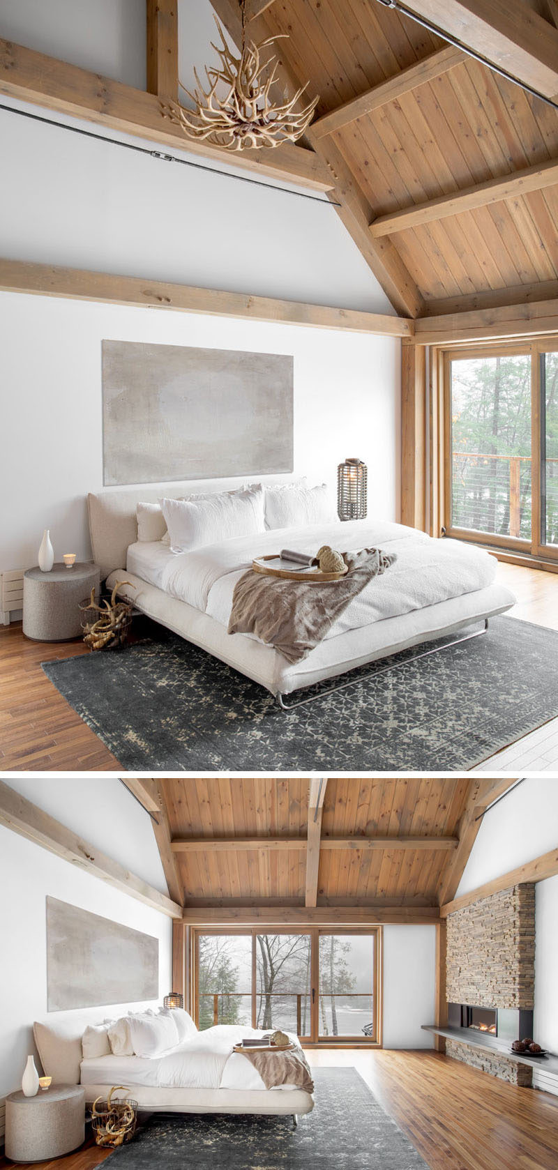 Modern Neutral Master Bathroom 2: This Cozy Barn-Inspired Bedroom