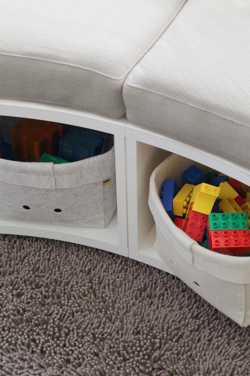 Kids Bedroom Idea - Create A Curved Custom Window Seat With Built-in Storage