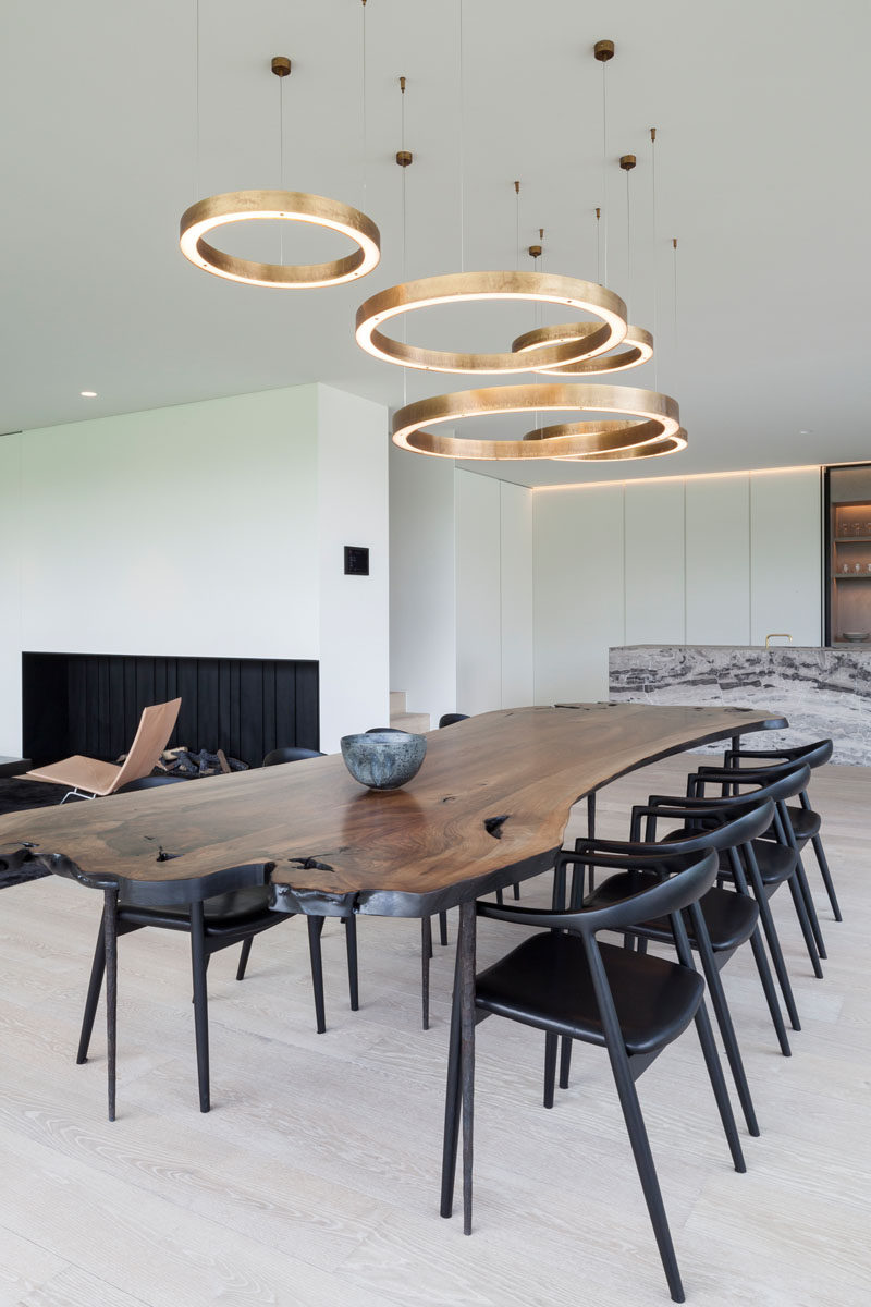 As You Can See In The Dining Room Of This House Designed By Govaert Vanhoutte Architects Multiple Light Fixtures Define Area