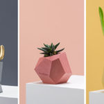 These Colorful Concrete Planters And Vases Add A Geometric Touch To Your Decor