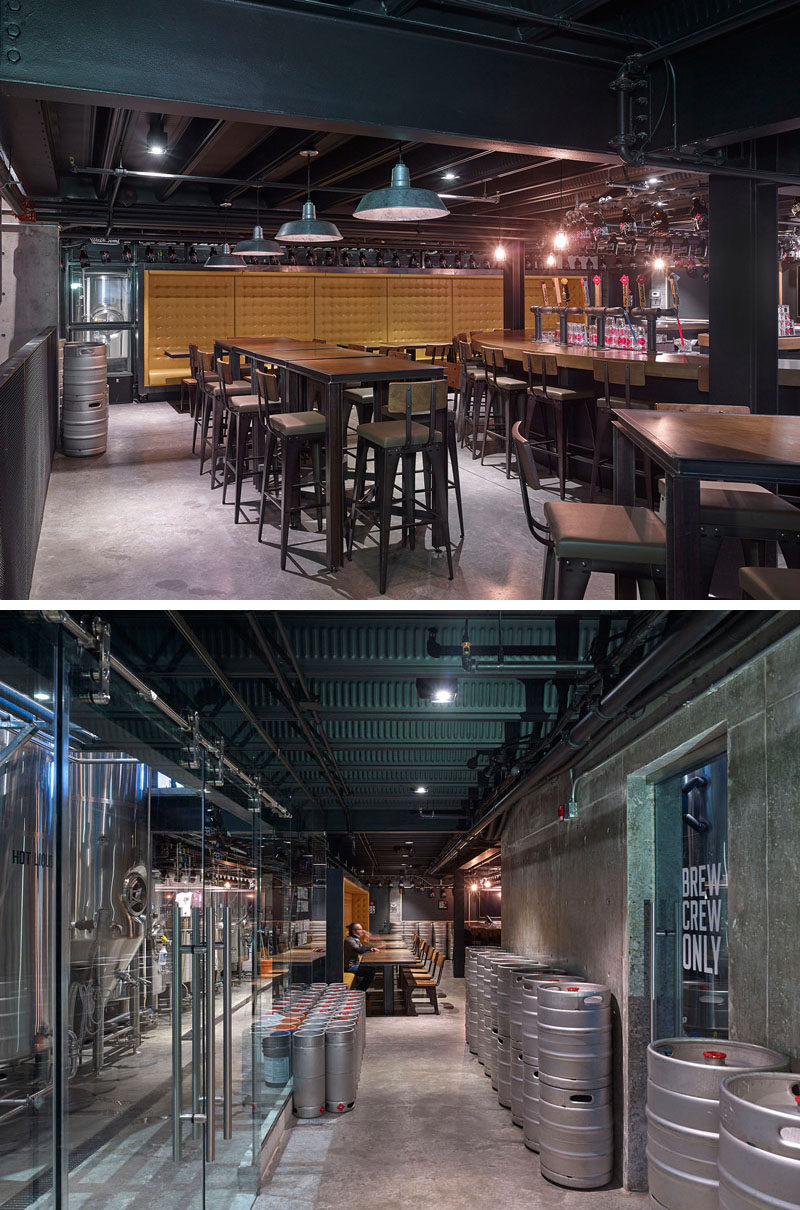 This Restaurant And Brewery Is Full Of Industrial Touches