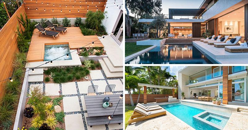 Landscaping Design Ideas 11 Backyards Designed For Entertaining Contemporist