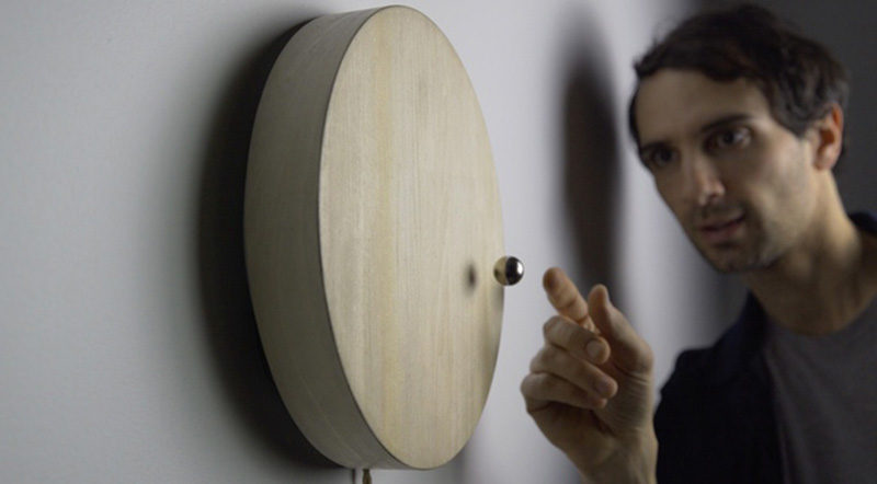 FLYTE, the Swedish design company specializing in levitating products, has a new project in the works called STORY, a modern wood clock that makes the passage of time seem like more than just ticks coming from a clock.
