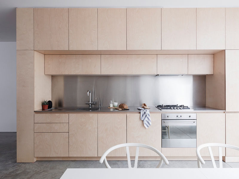 Superieur Kitchen Ideas   Polished Concrete Floors Together With White Walls, Simple  Furniture, Hardware