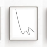 Minimalist Line Art Prints Are A Simple Way To Decorate Your Walls