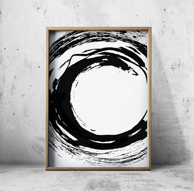 Wall Art Ideas 14 Ideas For Black And White Abstract