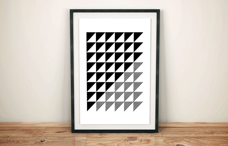 Wall art ideas 14 ideas for black and white abstract wall art