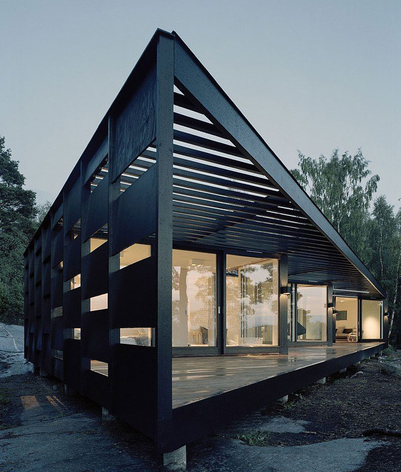House Exterior Colors 14 Modern Black Houses From Around The World Wood Panels