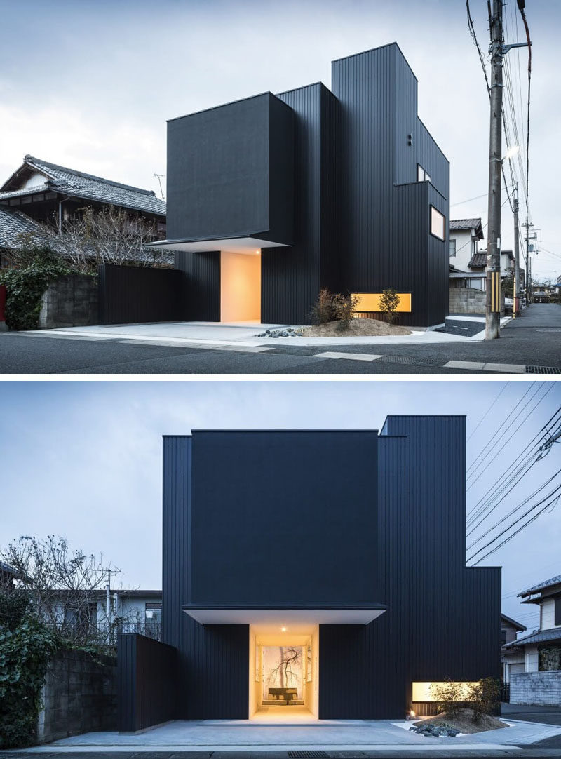 House Exterior Colors – 14 Modern Black Houses From Around ...
