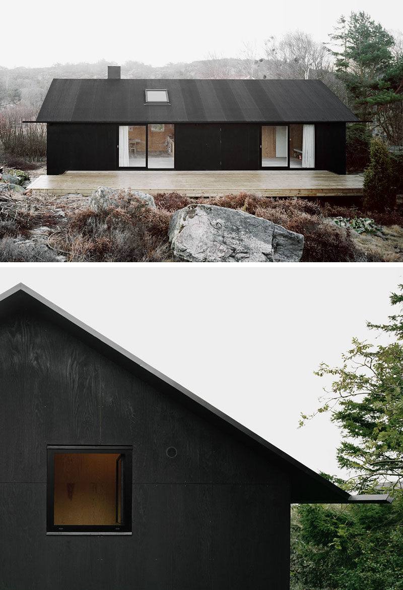 Modern House Exterior: 14 Modern Black Houses From Around