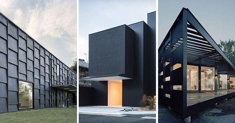 House Exterior Colors 14 Modern Black