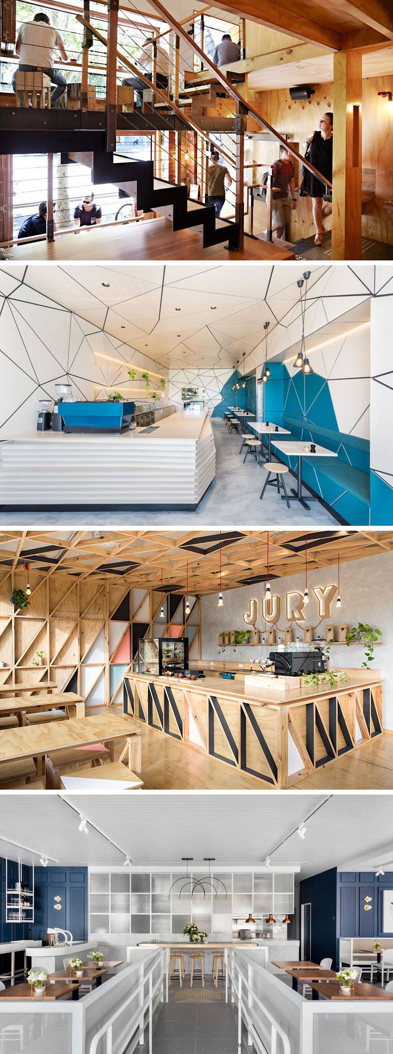 We've put together a list of 9 unique modern coffee shops and cafes that can be found in Australia and New Zealand.