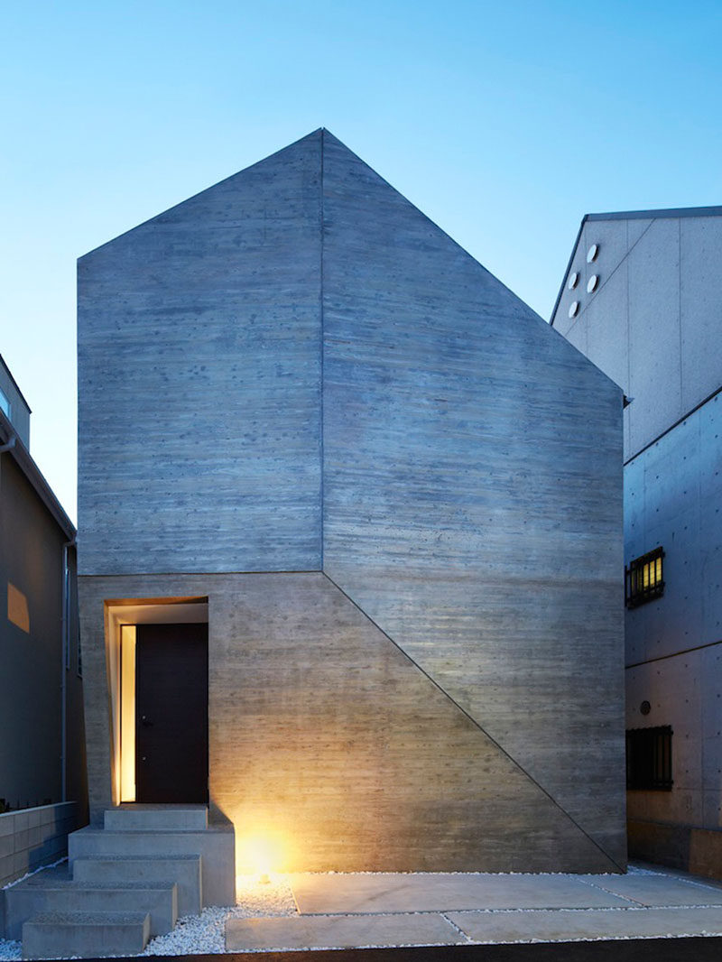 13 Modern House Exteriors Made From Concrete | The Way The Concrete Has  Been Joined On