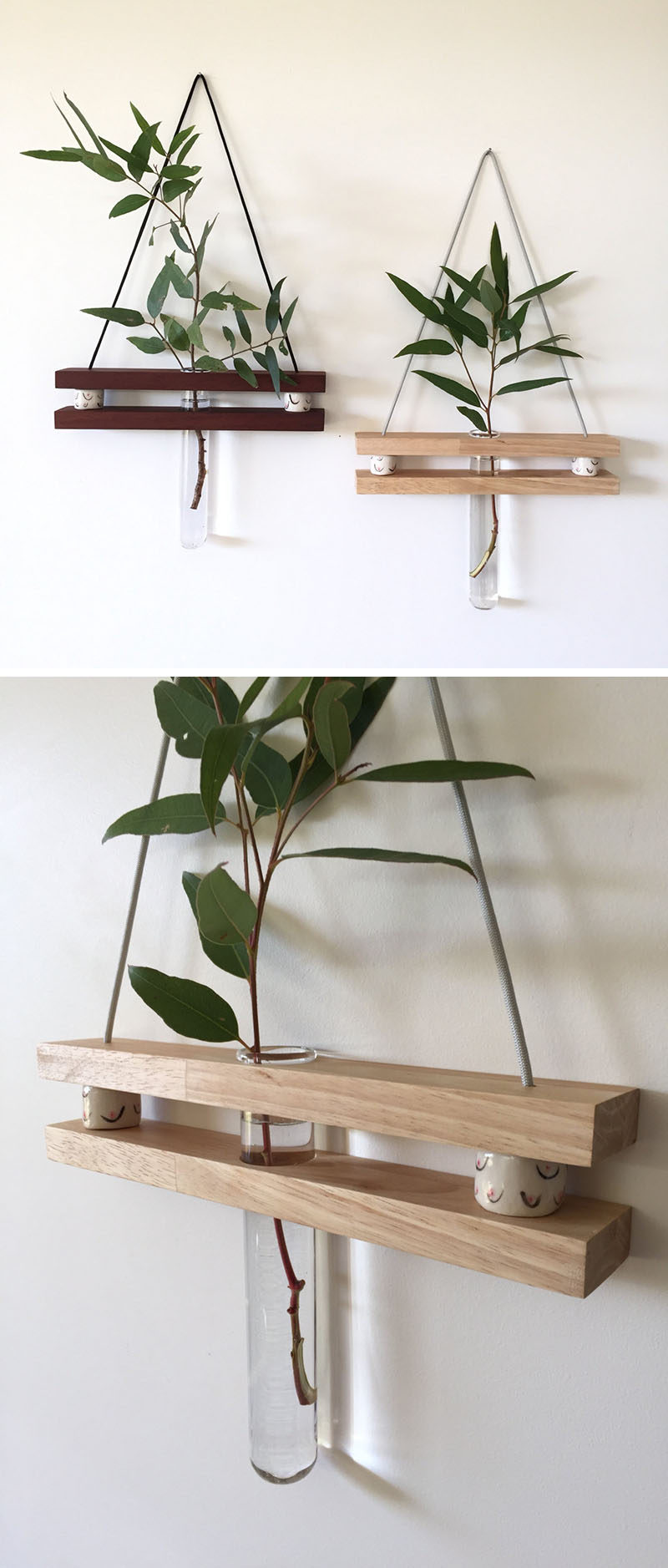These Small Shelves Hang On Your Wall Just Like A Piece Of Art Contemporist