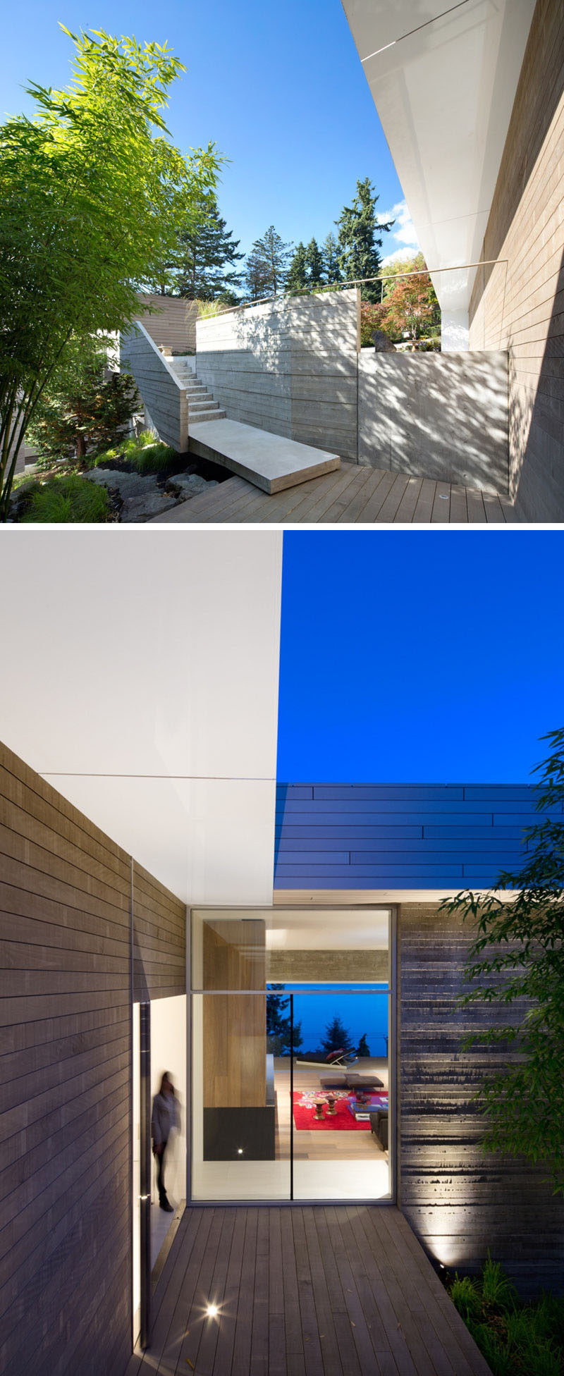 ^ his new house in Vancouver is designed to take advantage of its ...