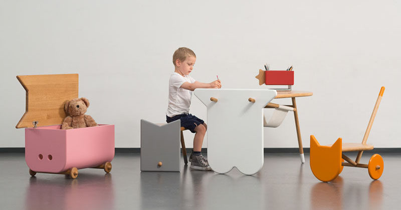 This Collection Of Modern Kids Furniture In The Shapes Farm Animals Can Also Be Used