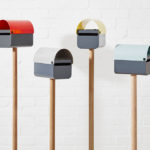 Modern Mailbox Design Ideas – TomTom The Friendly Letterbox Adds A Pop Of Color To Your Home
