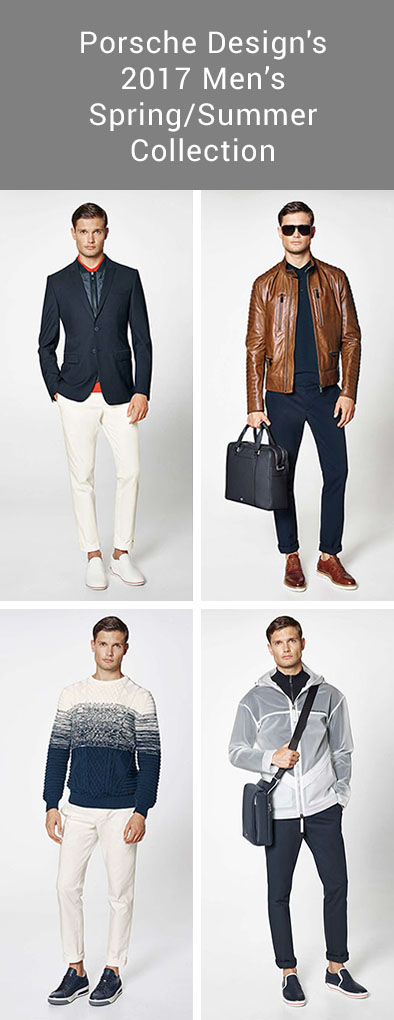 Men's Fashion Ideas - 17 Men's Outfits From Porsche Design's 2017 Spring/Summer Collection