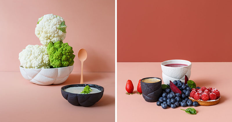 See How This Modern Porcelain Tableware Was Designed And Made