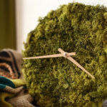 This Wall Clock Is Covered In Icelandic Moss