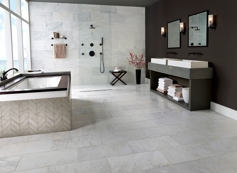 5 Reasons Why You Should Use Natural Stone For Your Interior Spaces / Natural stone is a naturally occurring, readily available material with inherent qualities that contribute to sustainable design goals, including a low embodied energy and the absence of off-gases that can reduce air quality.
