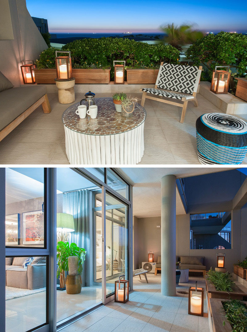 8 Outdoor Lighting Ideas To Inspire Your Spring Backyard Makeover / Lanterns - Using lanterns as a source of outdoor lighting is great because they're easy to move, they set the mood, and they come in a wide range of styles.