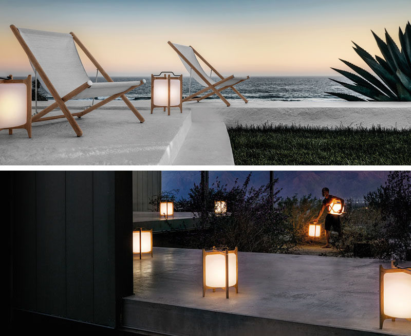 8 Outdoor Lighting Ideas To Inspire Your Spring Backyard Makeover / Lanterns    Using Lanterns As