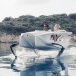 This electric watercraft lifts out of the water and lets you feel like you're flying