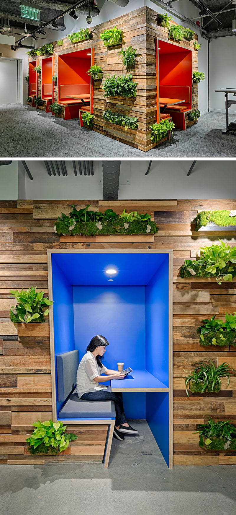 Reclaimed Wood Pallet Wall Plants 140217 1041 03 Contemporist