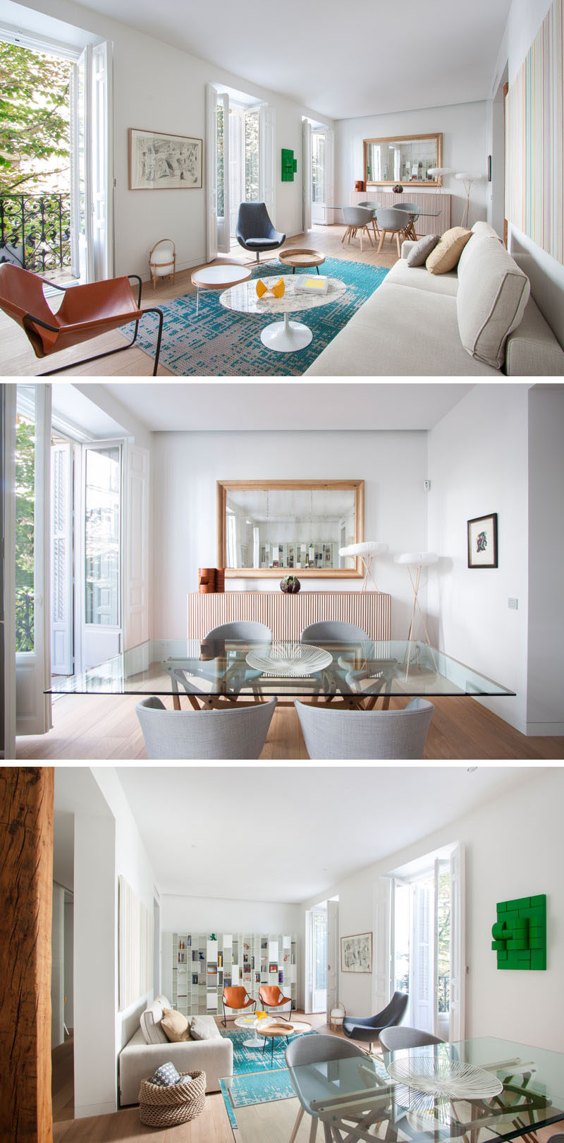A Bright And Comfortable Apartment Interior Design In Madrid ...