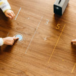 This projector turns any flat surface into an interactive touchscreen